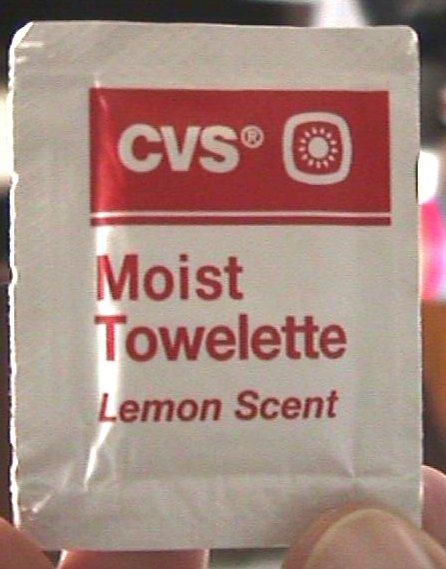 Moist Towelette Page